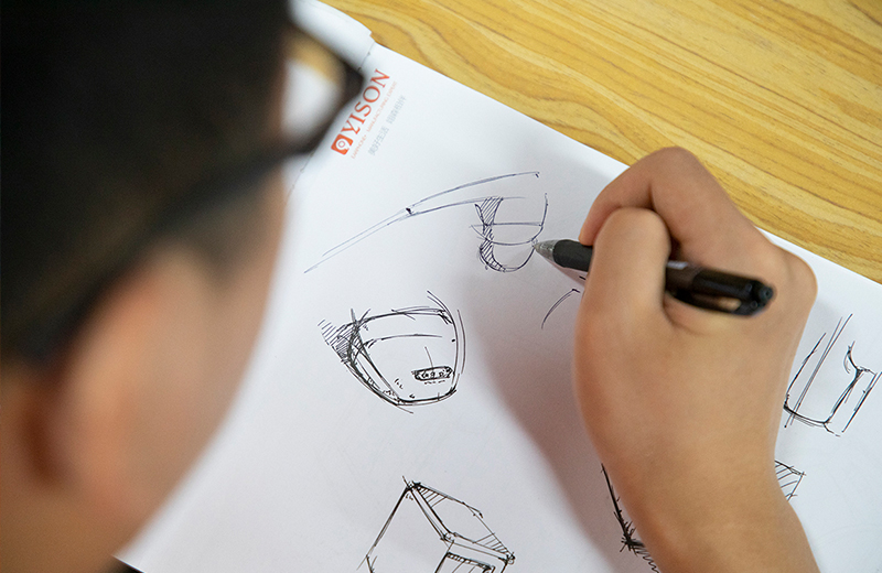 Product design hand drawing